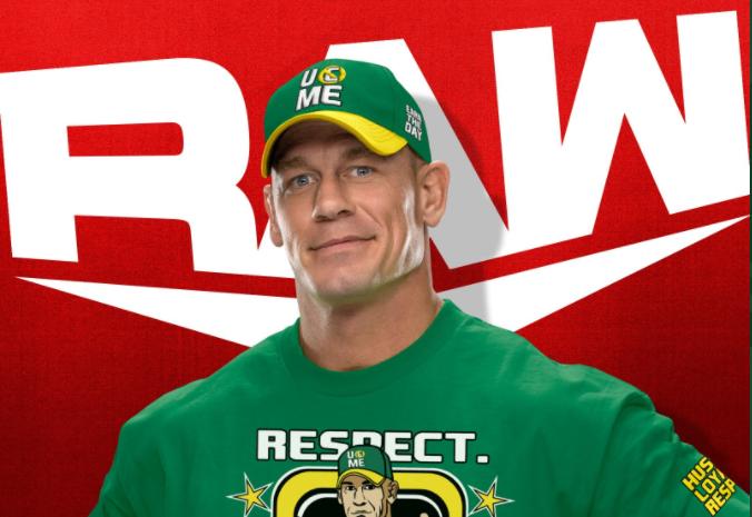 John Kena to start this week's Monday Night Raw