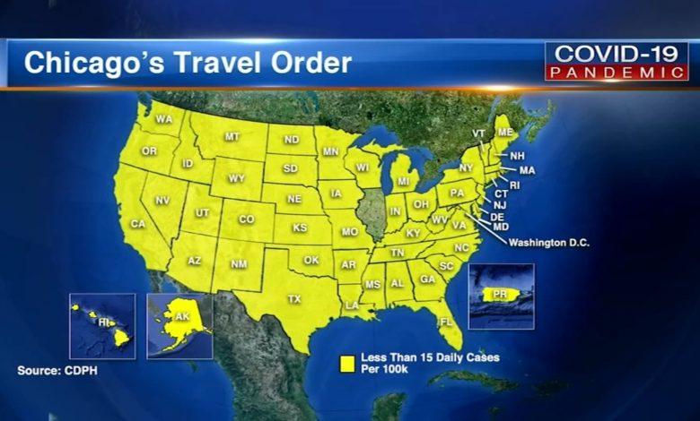 Chicago Travel Advisory: Missouri, Arkansas added back on list as COVID-19 cases rise
