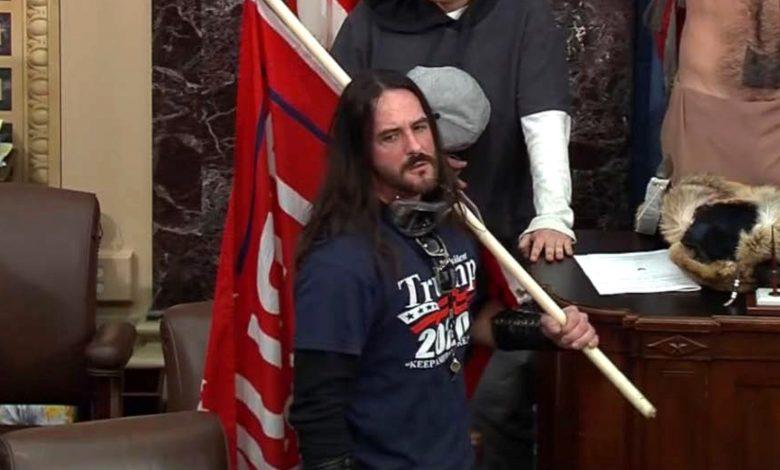 Capitol rioter Paul Allard Hodgkins, Senate Violation Sentenced to 8 Months
