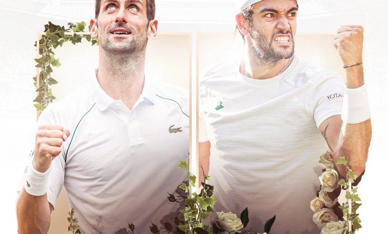 Djokovic vs Berrettini LIVE - Wimbledon finals LIVE streaming for free