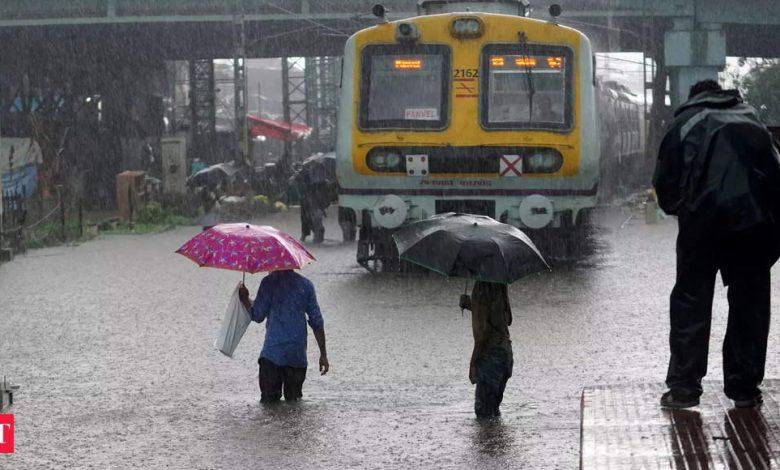 Mumbai rains: Rains: IMD issues red alert for 5 Maharashtra districts, orange alert for Mumbai, Thane