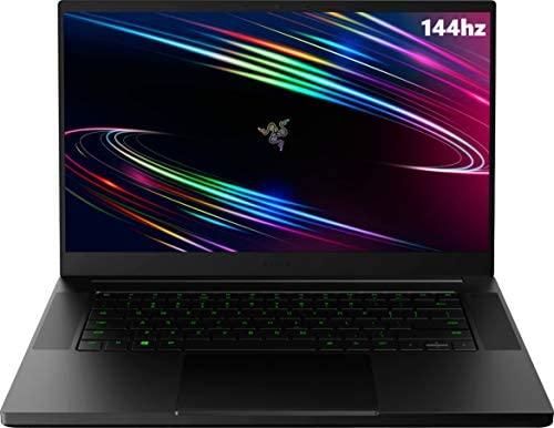 """Newest Razer Blade 15 Base 15.6"""" FHD 144Hz Gaming Laptop, 10th Gen Intel Core i7-10750H, 16GB RAM, 1TB PCIe SSD, NVIDIA GeForce RTX 2060 6GB GDDR6, RGB Backlit Keyboard, Windows 10"""