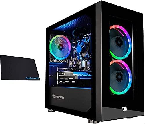iBUYPOWER Gaming PC Computer Mini Desktop (AMD Ryzen 3 3100 3.6GHz, AMD Radeon RX 550 2GB, 8GB DDR4 RAM, 1TB HDD, 240GB SSD,WiFi Ready, Windows 10 Home) w/OD Mouse Pad