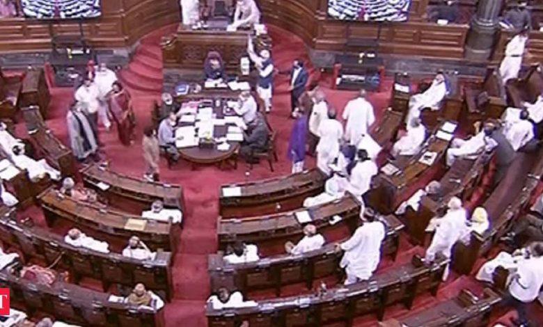 Rajya Sabha saw many postponements