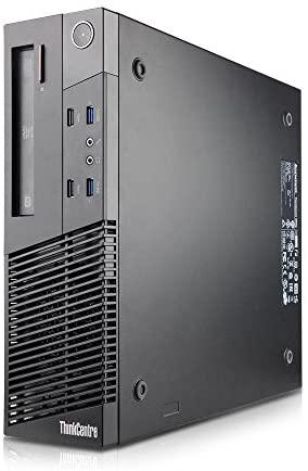 Lenovo ThinkCentre M93P Tiny Form Factor Business Desktop Computer, Intel Dual-Core i7-4765T up to 3.0 G,8GB,128GB SSD,WiFi,USB 3.0,VGA,Win10Pro , Support-English/Spanish (Renewed)