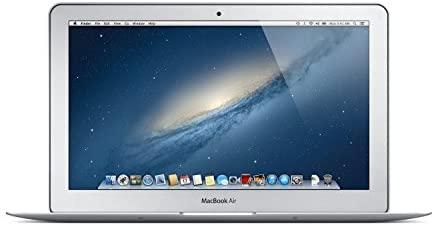 Apple MacBook Air MD224LL/A 11.6-Inch Laptop (1.3GHz Intel Core i5-3317U Dual-Core, 4GB RAM, 128GB SSD, Wi-Fi, Bluetooth 4.0) (Renewed)