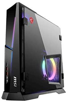 CUK MPG Trident AS by MSI Gaming Desktop PC (Intel Core i9, 64GB DDR4 RAM, 1TB NVMe SSD + 2TB HDD, NVIDIA GeForce RTX 3080 10GB, 750W PSU, Windows 10 Home) Gamer Computer