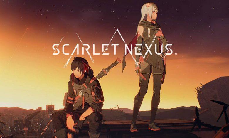 Scarlet Nexus Key Visual