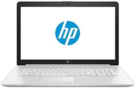 """HP 17 Business Laptop - Linux Mint Cinnamon - Intel Quad-Core i5-8265U, 8GB RAM, 1TB HDD, 17.3"""" Inch HD+ (1600x900) Display, SD Card Reader, DVD+-RW Burner"""