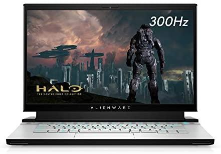 Alienware m15 R3 Gaming Laptop, 15.6 inches 300hz 3ms FHD Display, Intel Core i7-10th Gen, Nvidia GeForce RTX 2080 Super 8GB GDDR6, 1TB SSD, 32GB RAM, Lunar Light
