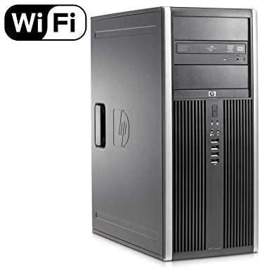 HP Elite 8300 Premium High Performance Business MiniTower Desktop PC, Intel Quad-Core i5-3470 up to 3.6GHz, 8GB DDR3, 120GB SSD + 500GB HDD, DVD, WIFI, Windows 10 Professional (Renewed)