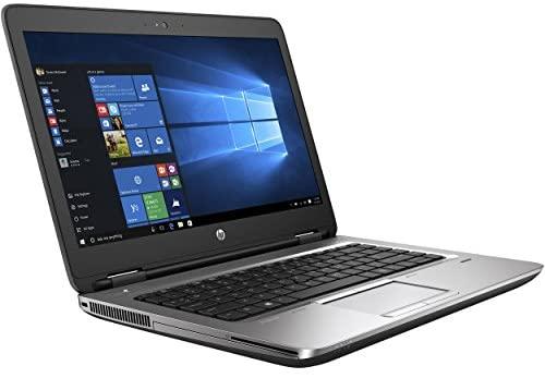 """HP ProBook 640 G2 Laptop, 14"""" HD Display, Intel Core i5-6300U Upto 3.0GHz, 16GB RAM, 256GB NVMe SSD,, DisplayPort, Wi-Fi, Bluetooth, Windows 10 Pro (Renewed)"""