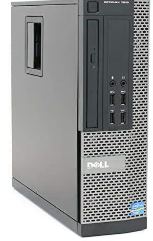 Dell Optiplex 7010 Small Form Desktop, Intel Quad Core i5 3470 3.2Ghz, 16GB DDR3, 256GB SSD Hard Drive, DVD-RW, Windows 10 Pro (Renewed)