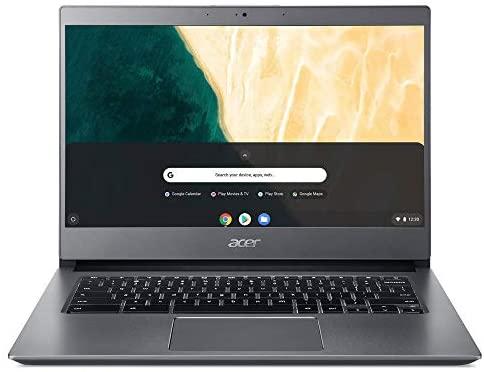 "Acer Chromebook 714 CB714-1WT-3447, 8th Gen Intel Core i3-8130U, 14"" Full HD Touchscreen, 8GB DDR4, 64GB eMMC, 802.11AC WiFi, Bluetooth, Aluminum Chassis"
