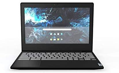 "New Lenovo 3 Chromebook 11.6"" HD (1366 X 768) Laptop PC, Intel Celeron N4020 Dual-Core Processor, 4GB RAM, 32GB eMMC, Webcam, WiFi, Bluetooth, Chrome OS, Onyx Black (Google Classroom Ready)"