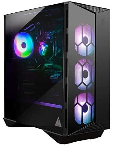 MSI Aegis RS (Tower) Gaming Desktop, Intel Core i7-10700K, GeForce RTX 3080, 16GB Memory, 1TB SSD + 2TB HDD, WiFi 6, Liquid Cooling, USB Type-C, VR-Ready, Windows 10 Home Adv. (10TE-081US)