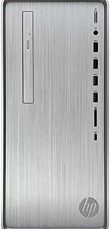 HP Pavilion TP01 Tower Desktop Computer - AMD Ryzen 5 4600G 6-Core up to 4.20 GHz Processor, 32GB DDR4 RAM, 3TB Hard Drive, AMD Radeon Graphics, DVD-Writer, Wireless Mouse, Windows 10 Home