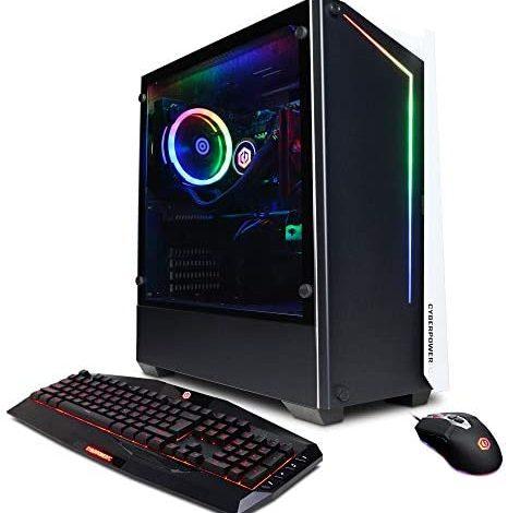 CYBERPOWERPC Gamer Supreme Liquid Cool SLC10300V4 (Desktop, Intel Core i7-10700K 3.8GHz CPU, NVIDIA GeForce RTX 3070 8GB, 16GB DDR4, 500GB PCI-E NVMe SSD, 1TB HDD, WiFi Ready, Win10 Home, Black)