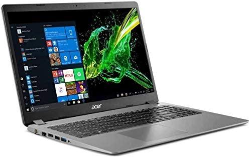 "2020 Acer Aspire 3 15.6"" FHD 1080P Laptop PC, Intel Core i5-1035G1 Quad-Core Processor, 8GB DDR4 RAM, 256GB SSD, Ethernet, HDMI, Wi-Fi, Webcam, Numeric Keypad, Win10 Home, Steel Gray (Renewed)"