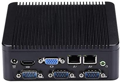 J1900 Mini PC Desktop Qaud Core 2.0 GHz Windows 10-8GB RAM, 128GB mSATA SSD, 2.4G/5G WiFi/BT4.0