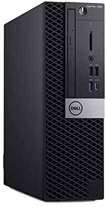 Dell OP7060SFFT7G0K OptiPlex 7060 SFF Desktop Computer with Intel Core i7-8700 3.2 GHz Hexa-core, 16GB RAM, 256GB SSD