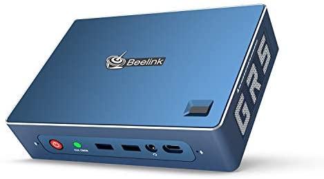 Mini PC GTR Windows 10 Pro,AMD Ryzen 5 3550H Processor(up to 3.7 GHz) 16GB DDR4 512GB NVMe SSD,Radeon Vega 8 Graphics,WiFi 6,Bluetooth 5.0,Dual Gigabit Ethernet,Gaming Mini Desktop Computer