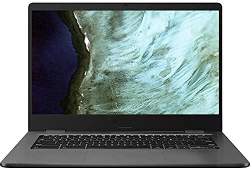 "Latest_ASUS Chromebook Laptop Convertible PC Computer, 14"" HD, Intel Celeron N3350, 4GB RAM, 32GB eMMC, Webcam, WiFi, Bluetooth 5.0, 8h Battery Life, Chrome OS (N3350 | 4GB RAM 32GB eMMC)"