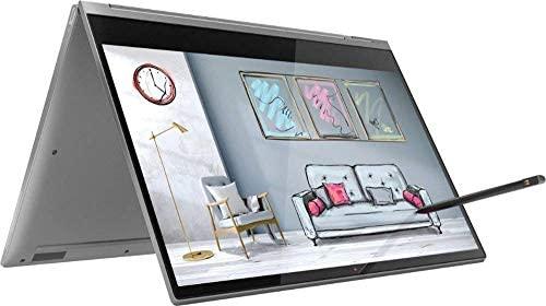 "2019 Lenovo Yoga C930 2-in-1 13.9"" FHD Touch-Screen Laptop - Intel i7, 12GB DDR4, 1TB PCIe SSD, 2X Thunderbolt 3, DolbyAtmos Audio, Webcam, WiFi, Active Pen, 3 LBS, 0.6"", Windows10, Iron Gray"