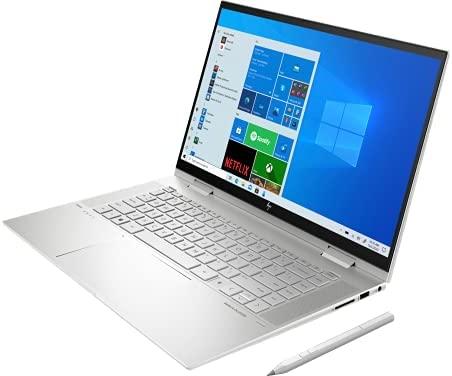 """HP Envy 15T x360 2021 i7-1165G7 11th Gen, 16 GB RAM, 1 TB SSD, 15.6"""" FHD Touch, HP Tilt Pen, B&O Speakers, Win 10 Pro, Nvidia MX450 2GB, 64 GB Tech Warehouse Flash Drive"""