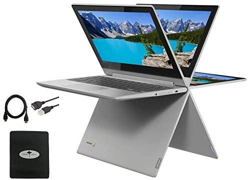 "2021 Newest Lenovo Chromebook Flex 3 2-in-1 11.6"" Convertible Touch Screen Laptop, 360°flip-and-fold Design, MediaTek MT8173C(Beat N4020), 4GB Memory, 32GB eMMC, PowerVR, Chrome OS w/GM Accessories"