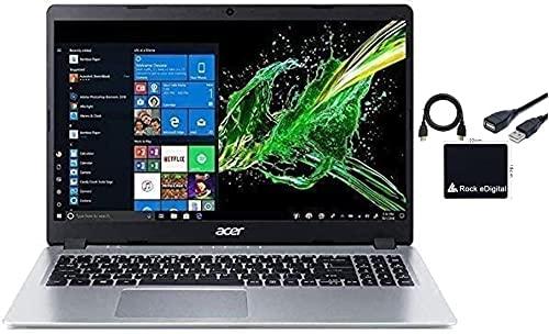 "2021 Newest Acer Aspire 5 15.6"" FHD 1080P Laptop Computer AMD Ryzen 3 3200U Dual Core Processor (Beat i5-7200U) 8GB RAM 128GB SSD Backlit Keyboard WiFi Bluetooth HDMI Windows 10 Pro w/ RE Flash Drive"