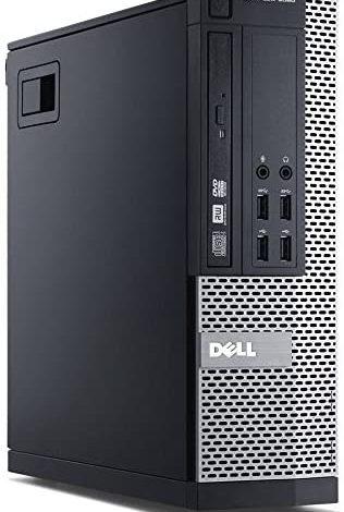 Dell Optiplex 9020 Small Form Factor Desktop with Intel Core i7-4770 Upto 3.9GHz, HD Graphics 4600 4K Support, 32GB RAM, 1TB SSD, DisplayPort, HDMI, Wi-Fi, Bluetooth - Windows 10 Pro (RENEWED)