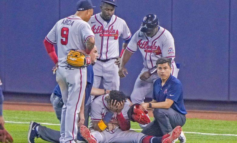 Atlanta All-Star Ronald Acuña's tears ACL, will undergo season-ending surgery
