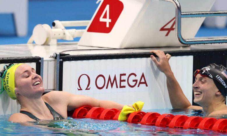 Rivalry Vs Australia's Ariarne Titmus 'Great for Sport'