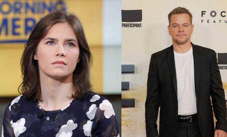 Amanda Knox Slams Matt Damon Film 'Stillwater' Based on Her Story