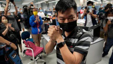 Former Apple Daily senior editor Lam Man-chung arrested by Hong Kong police