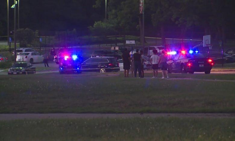 Kids ducked for cover during shooting outside Kansas City community center