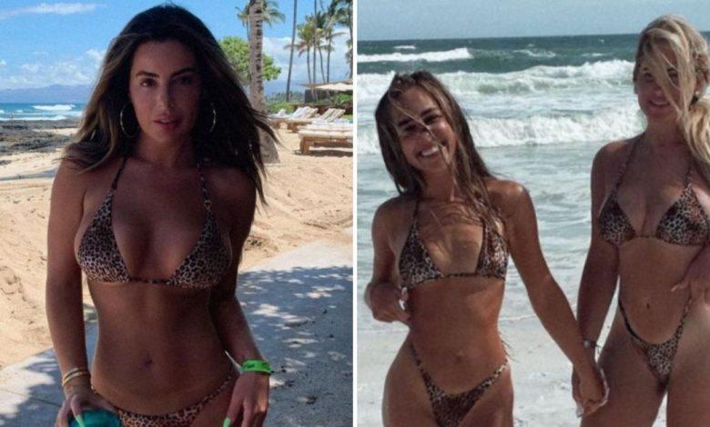 Brielle Biermann Wears Same Leopard Bikini as Mom Kim and Ariana