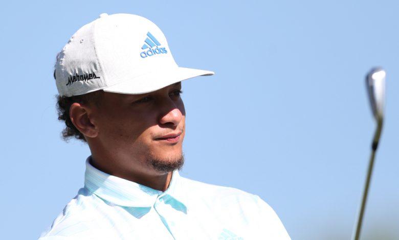 Patrick Mahomes poked fun at Justin Herbert at a golf tournament