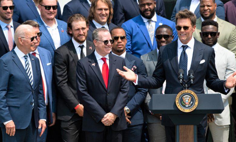Tom Brady Cracks Election Joke, Drops 'Sleepy Tom' Nickname On President Joe Biden – CBS DC