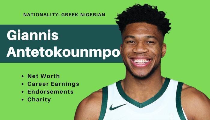Giannis Antetokounmpo Net Worth
