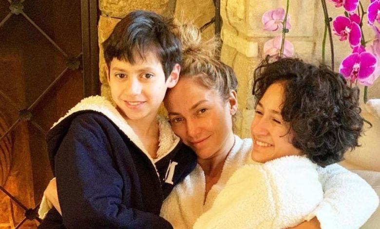 Jennifer Lopez's Best Moments With Twins Emme, Maximilian: Photos