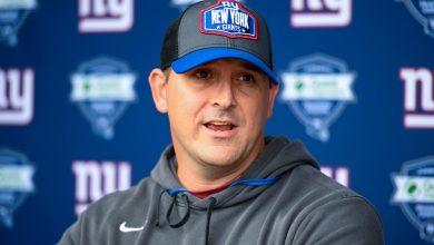 Giants' Joe Judge responds to Kelvin Benjamin 'cussing' critique