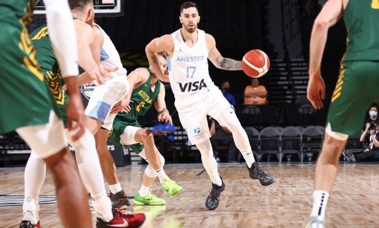 Knicks' Luca Vildoza makes wild half-court shot for Argentina