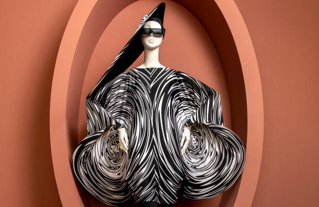 """A Pierre Cardin look at SCAD's """"Notre Ami, Pierre Cardin"""" exhibition."""