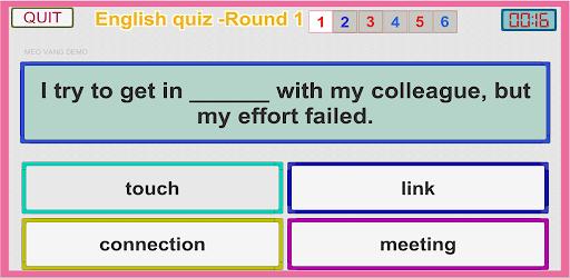 [Released] Intermediate English quiz