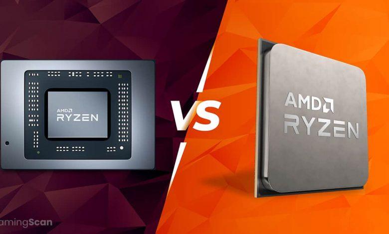 Mobile CPU vs Desktop CPU
