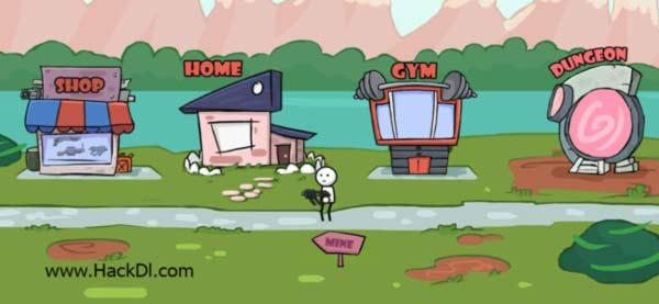 One Gun: Stickman coole offline spiele kampfspiele