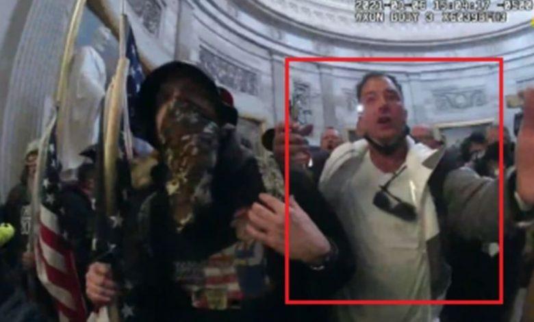 QAnon-Loving Ex-Marine James Burton McGrew Accused in Capitol Riot Fled to Mexico as Feds Closed In