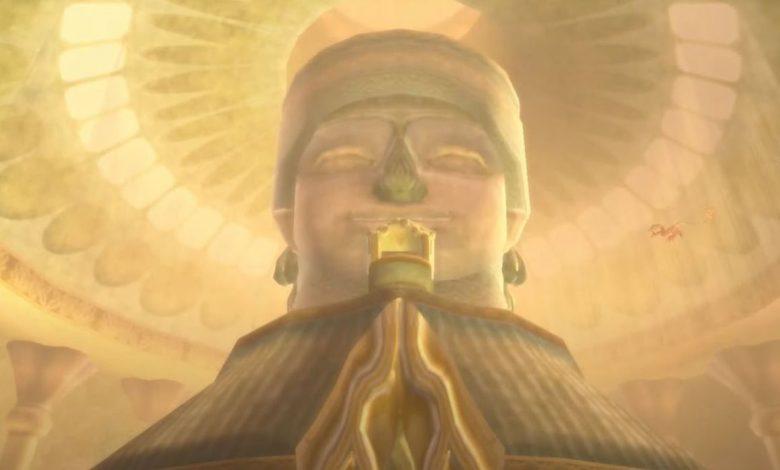 Map Location Ancient Dungeon in Legend of Zelda: Skyward Sword HD